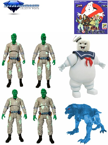 Diamond Select Toys Real Ghostbusters Spectral Ghostbusters Set